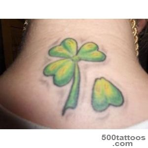 Clover tattoo design, idea, image