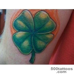 32 Unique Four Leaf Clover Tattoos   SloDive_39