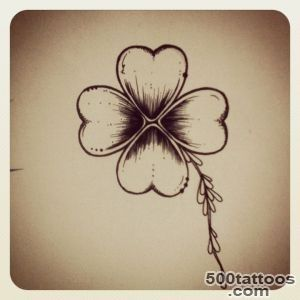 1000+ ideas about Four Leaf Clover Tattoo on Pinterest  Shamrock _2