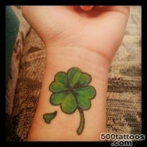 Clover Tattoos, Designs And Ideas_34