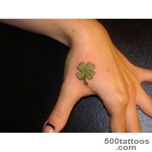 Four Leaf Clover Tattoos Designs, Ideas and Meaning  Tattoos For You_11