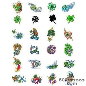 Four Leaf Clover tattoos   what do they mean Tattoos Designs _37