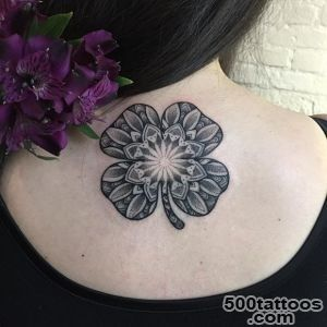 What Are The Meanings of the Four Leaf Clover Tattoos   Tattoos Win_24