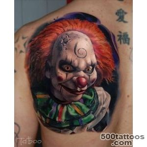70+ Awesome Clown Tattoos_17