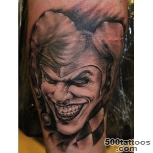 70+ Awesome Clown Tattoos_24