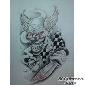 Clown Tattoo Images amp Designs_41