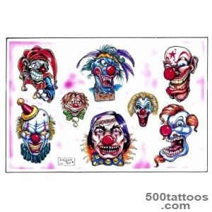 Clown Tattoos, Designs And Ideas  Page 73_16