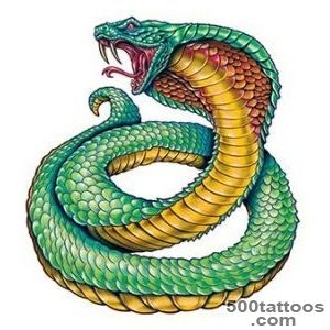 King Cobra  TattooForAWeekcom   Temporary Tattoos   Fake tattoos _4