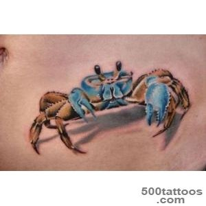 23+ Traditional Crab Tattoos_2