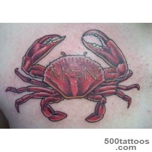 Crab Tattoos Designs, Ideas and Meaning  Tattoos For You_8