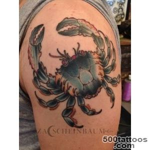 Crab tattoo — Zac Scheinbaum_6