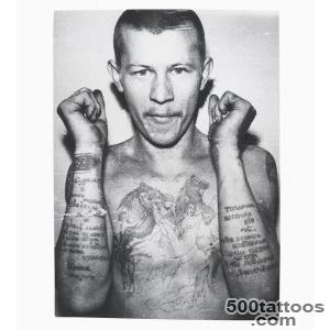arkady bronnikov#39s russian criminal tattoo police files_33