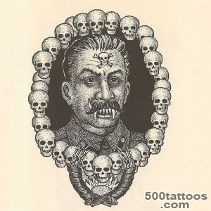 Russian Criminal Tattoos, This tattoo is known as #39The Great _15