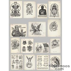 Russian Prison Tattoos, From the Russian Criminal Tattoo _2