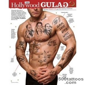 russian prison tattoo  the inked male  Pinterest  Russian _1