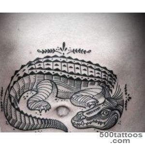 14 Awesome Crocodile Tattoo Images, Pictures and Ideas_5