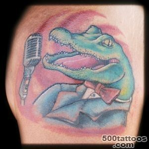 1990Tattoos Scary Crocodile Tattoos_46