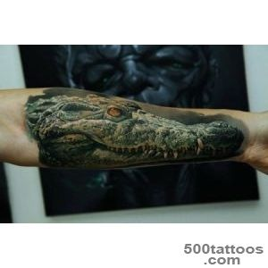 Crocodile Arm Tattoo  Best tattoo ideas amp designs_1