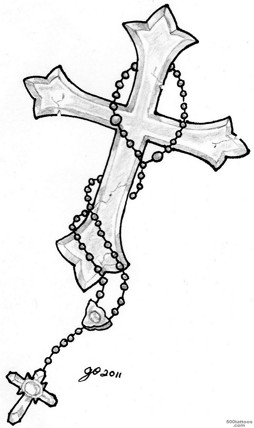 Cross Tattoos Designs, Ideas and Meaning  Tattoos For You_11