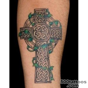 40+ Mysterious Cross Tattoo Designs   Characteristic Symbol_35