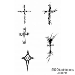 Tattoos on Pinterest  Cross Tattoos, Delicate Tattoo Fonts and _39