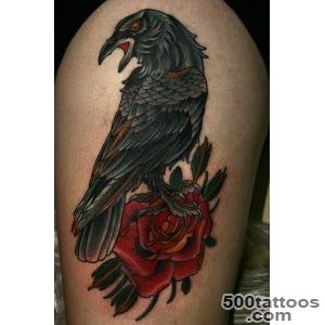 Crow Tattoos, Designs And Ideas_10