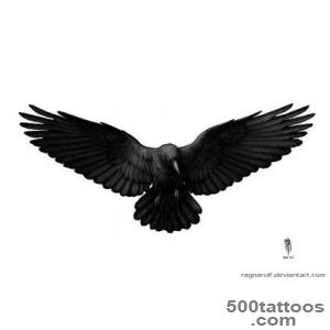 The Expendables Crow Tattoo Design  Fresh 2016 Tattoos Ideas_3