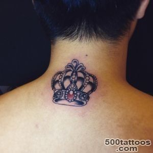 35 Best King And Queen Crown Tattoo Designs amp Meaning_12