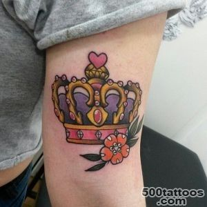 35 Best King And Queen Crown Tattoo Designs amp Meaning_27