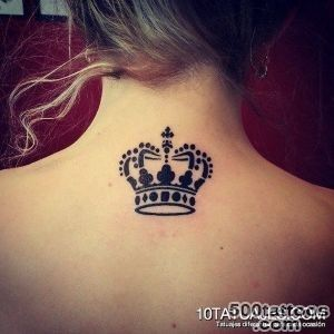 50 Meaningful Crown Tattoos  Art and Design_3