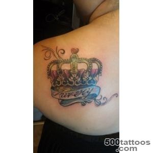 50 Meaningful Crown Tattoos  Art and Design_25