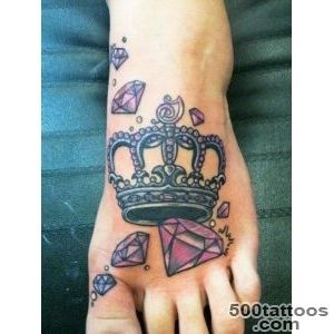 50 Meaningful Crown Tattoos  Art and Design_26