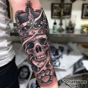 100 Crown Tattoos For Men   Kingly Design Ideas_30