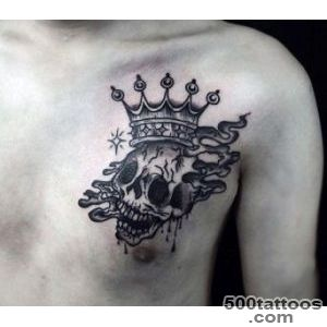 100 Crown Tattoos For Men   Kingly Design Ideas_35