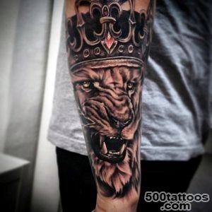 100 Crown Tattoos For Men   Kingly Design Ideas_39