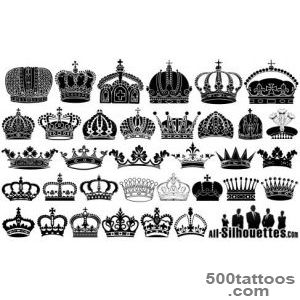 Crown Tattoo Images amp Designs_13