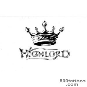 Latest Queen King Letters Crown Tattoos Stickers   Tattoes Idea _4
