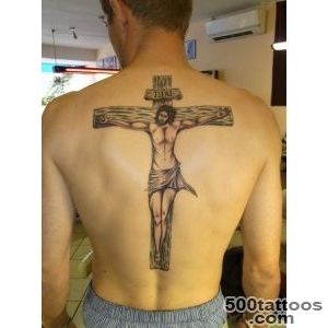 25 Crucifix Tattoo Designs For Men_23