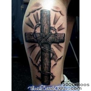 50 Creative Cross Tattoo Designs  Art and Design_15