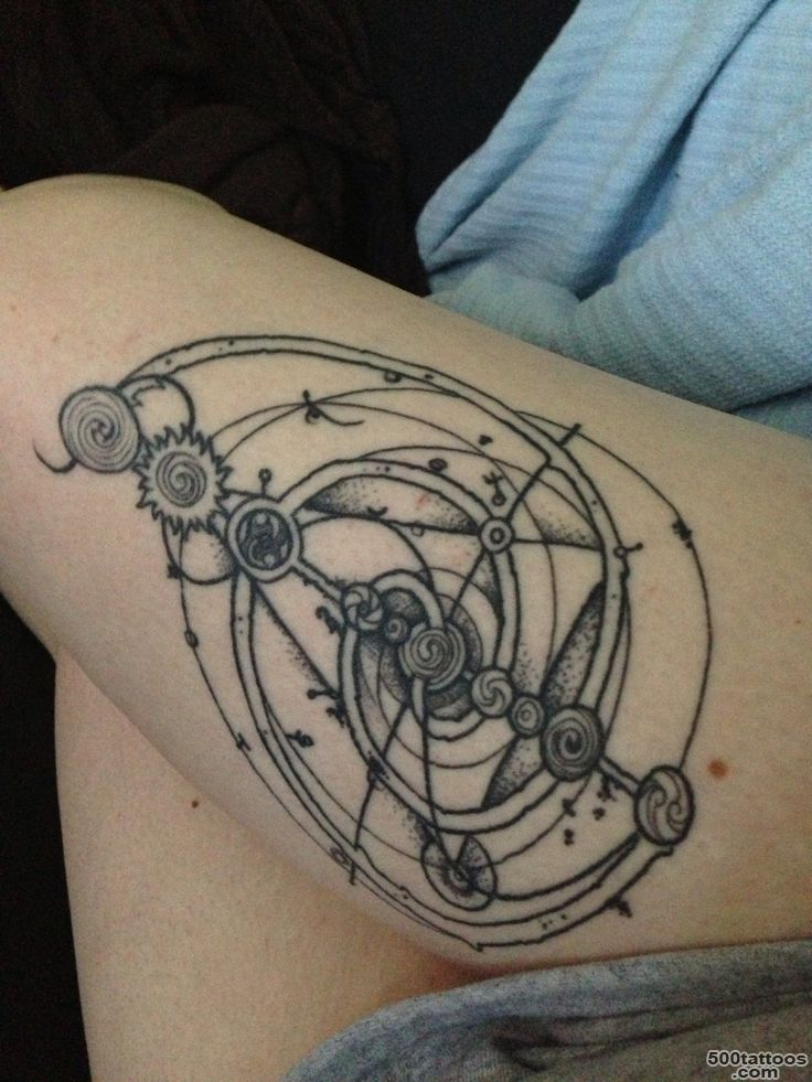 49 Сrystal Tattoos   Meanings, Photos, Designs for men and women_15