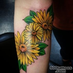 30 Nice Daisy Flower Tattoo Designs amp Meaning_8