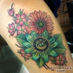 30 Nice Daisy Flower Tattoo Designs amp Meaning_13