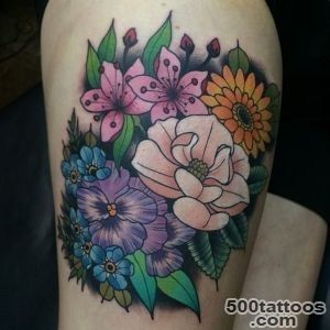 100 Pretty Daisy Tattoo Designs amp Meanings   2016 Collection_30
