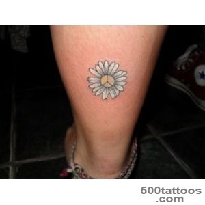 Beautiful Daisy Tattoo Design  Fresh 2016 Tattoos Ideas_49