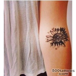 Exciting Beautiful Arm Daisy Tattoo Flower Tattoos Design August 2016_38