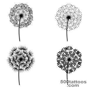 21+ Awesome Dandelion Tattoo Designs_13
