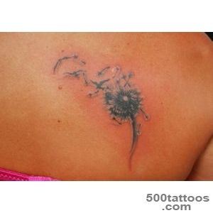 25 Enthusiastic Dandelion Bird Tattoo Ideas  CreativeFan_38