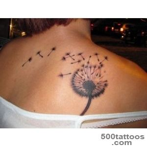35 Sensational Dandelion Tattoo Collection   SloDive_24