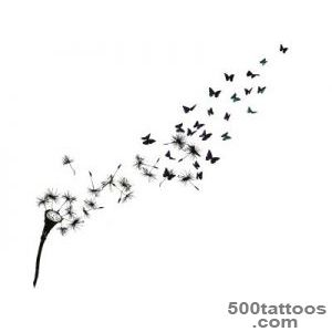 dandelion+silute  Girl Blowing Dandelion Wall Decal  Things to _21