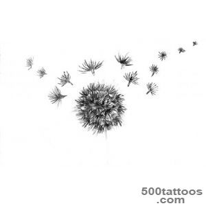 Dandelion Tattoo Designs  MadSCAR_26